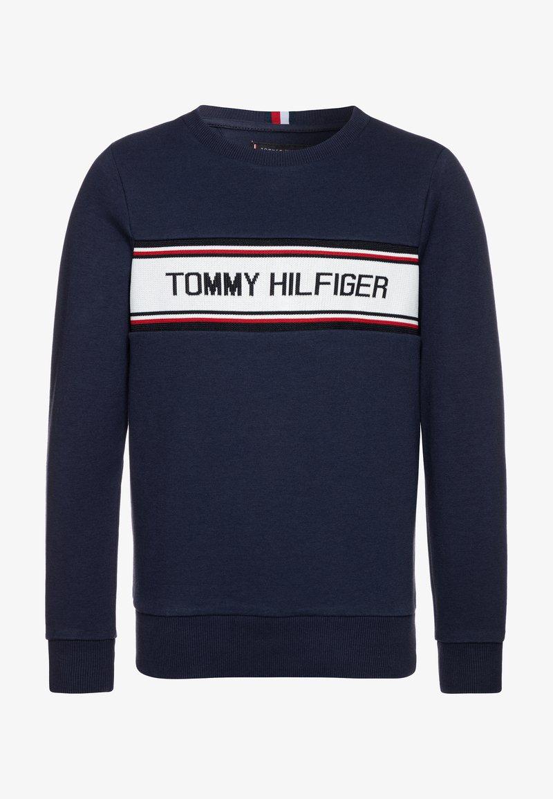 Tommy Hilfiger - INTARSIA  - Sweatshirt - blue