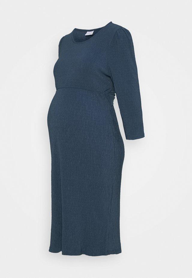 MLCAROLINE DRESS - Jerseyklänning - vintage indigo