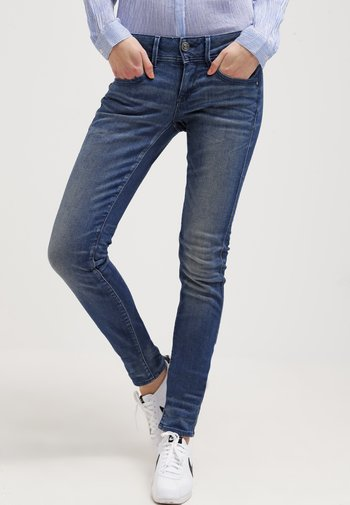 LYNN MID SKINNY - Jeans Skinny Fit - frakto supertretch