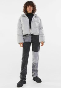 Bershka - Winter jacket - light grey - 1