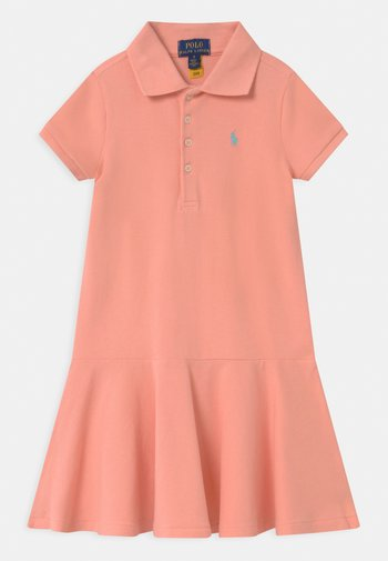 Day dress - deco coral