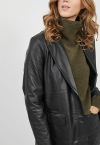 Object - Leather jacket - black - 4
