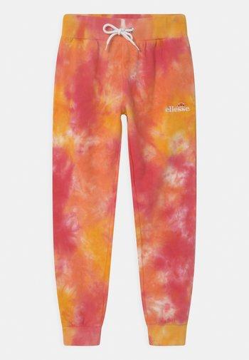 SHERIDA - Teplákové kalhoty - pink/yellow