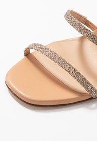 Unisa - SIMO - High heeled sandals - gold - 2