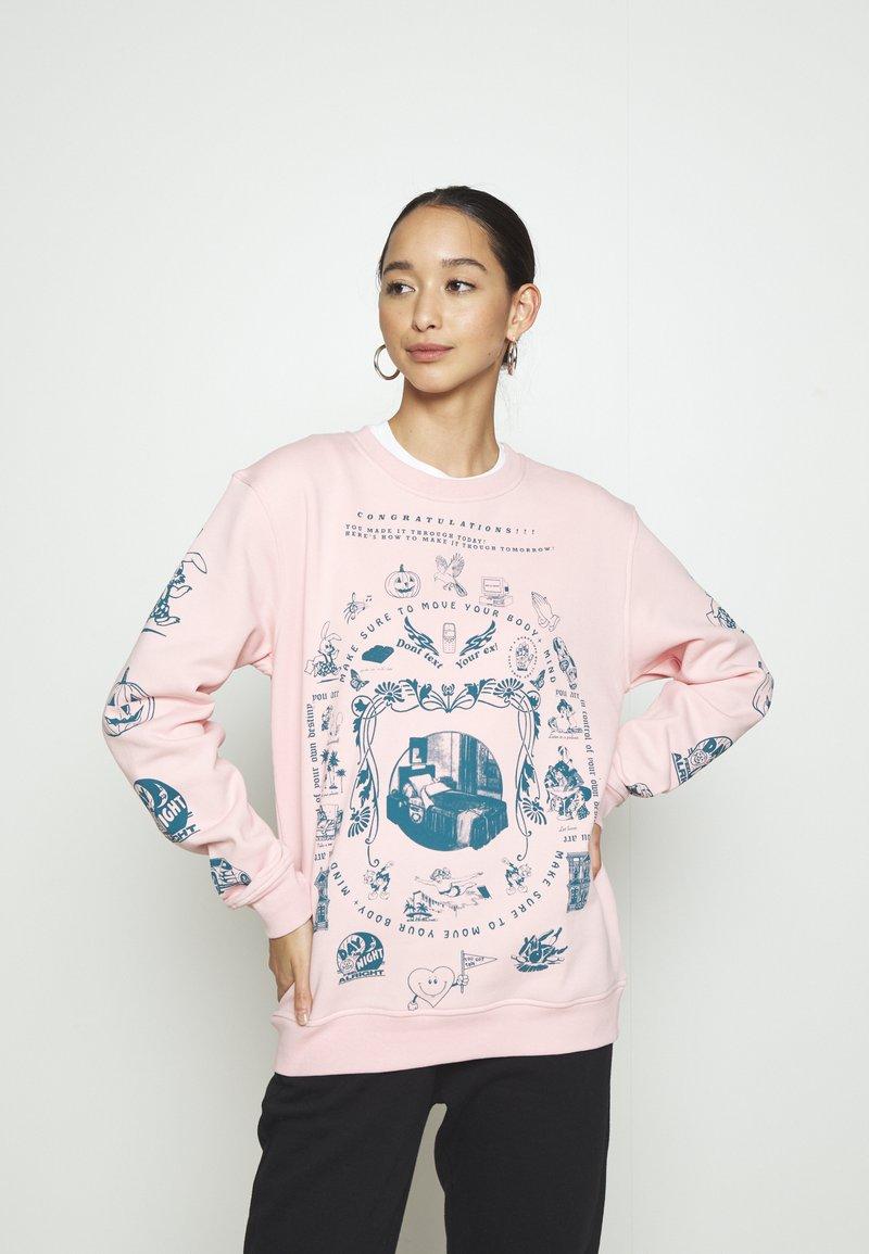 NEW girl ORDER - MOVE YOUR BODY  - Sweatshirt - pink