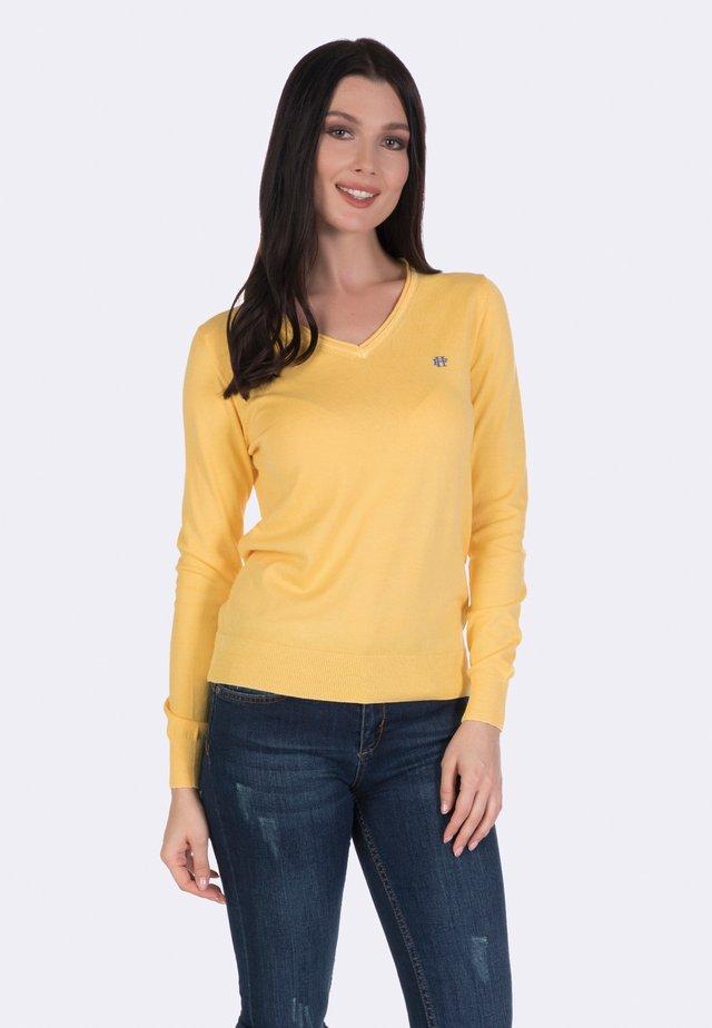 Trui - yellow