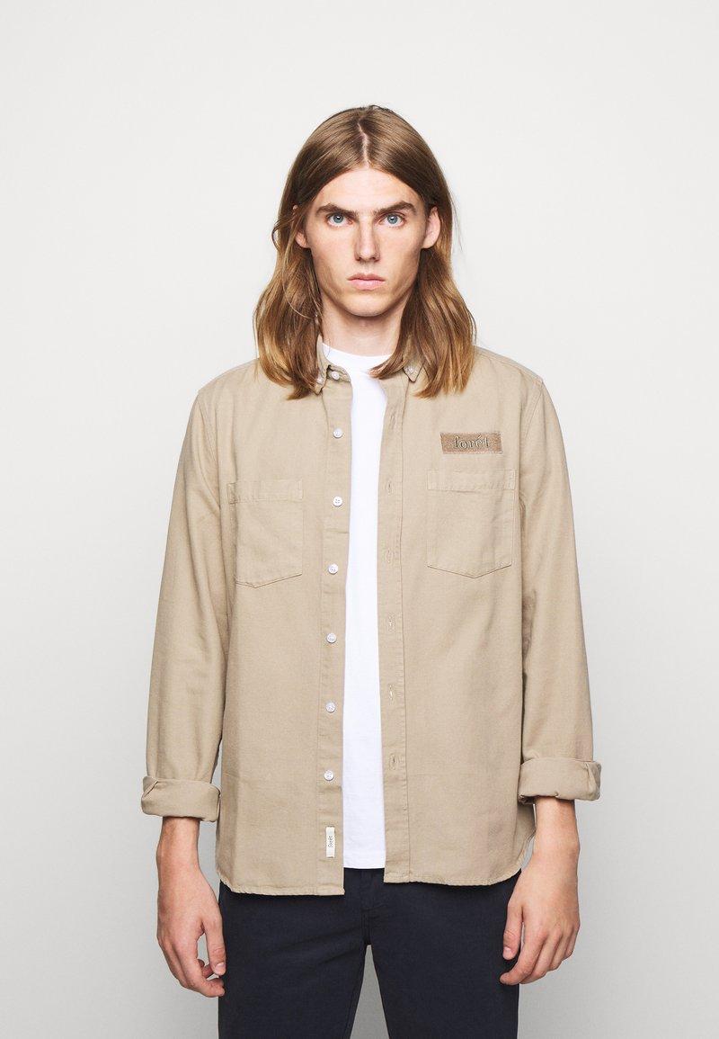forét - BEAR - Shirt - khaki