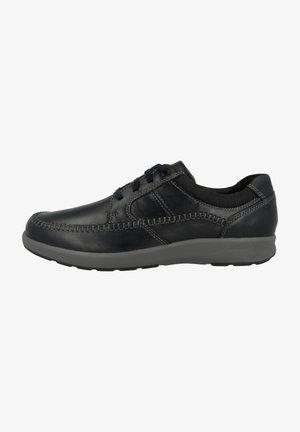 Chaussures à lacets - black oily