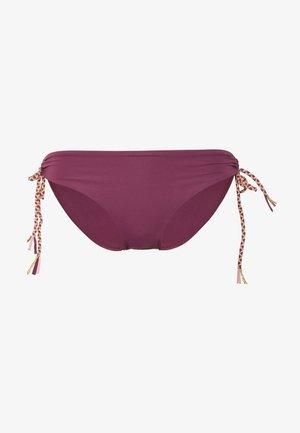 HIPSTER BRIEF - Bikini bottoms - aubergine