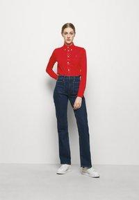 Polo Ralph Lauren - HEIDI LONG SLEEVE - Button-down blouse - bright hibiscus - 1