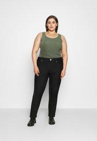 Marks & Spencer London - IVY SKINNY - Jeansy Skinny Fit - black denim - 1