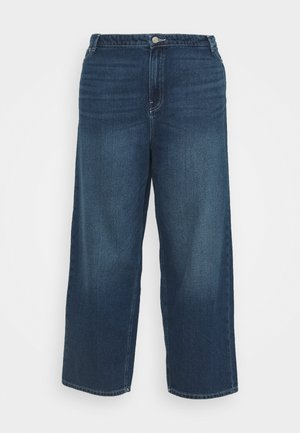 NMBROOKE ANKLE DAD - Relaxed fit jeans - medium blue denim