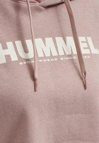 Hummel - HMLLEGACY  - Hoodie - woodrose - 4