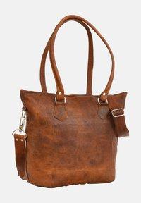 Gusti Leder - Käsilaukku - brown - 2