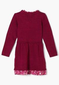s.Oliver - Jumper dress - dark pink - 1