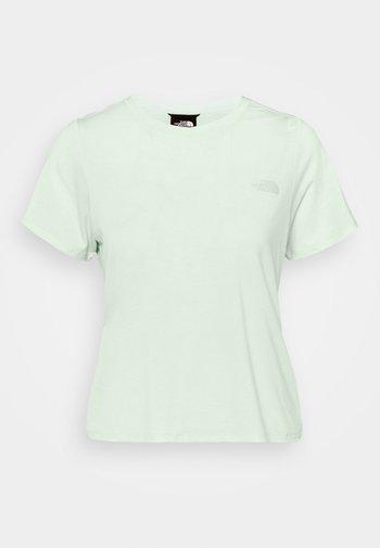 WANDER TWIST BACK - Basic T-shirt - misty jade heather