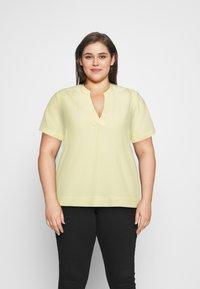 Selected Femme Curve - SLFALLA CURVE - Blouse - pastel yellow - 0