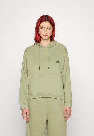 ALASKA HOODY - Sweatshirt - oill green