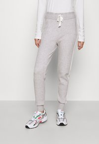 River Island - Tracksuit bottoms - grey marl - 0