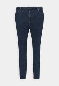 Vero Moda Curve - VMLOA - Skinny džíny - dark blue denim - 3