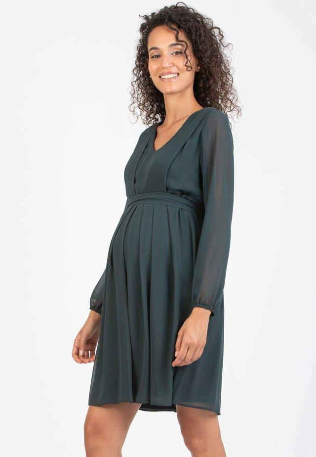 SARA - Korte jurk - green