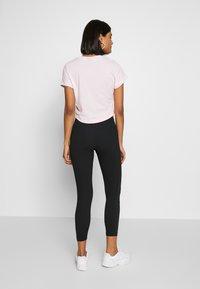 Nike Sportswear - Leggings - black/ice silver - 2