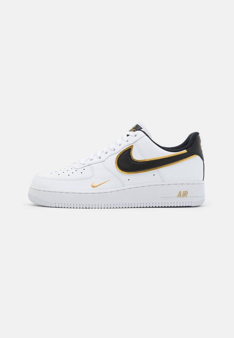 Nike Sportswear - AIR FORCE 1 '07 LV8 - Sneakers - white/black/metallic gold