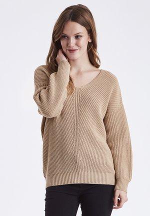 BYMELISSA - Sweter - beige