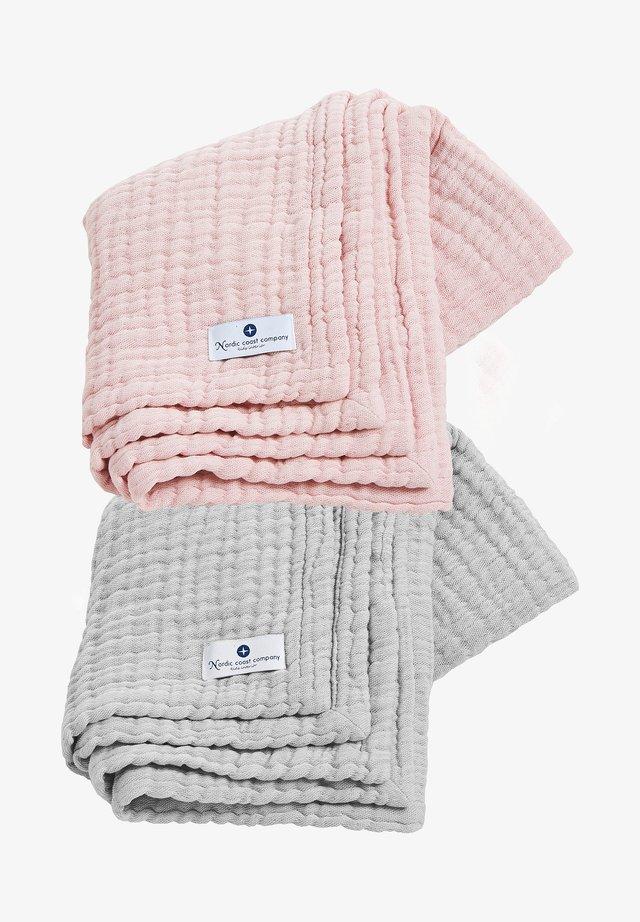 2 SET - Muslin blanket - bunt