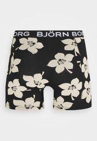 Björn Borg - GRAPHIC FLORAL SAMMY 2 PACK - Underkläder - black beauty - 2