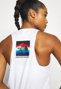The North Face - RAINBOW TANK - Toppi - white - 4