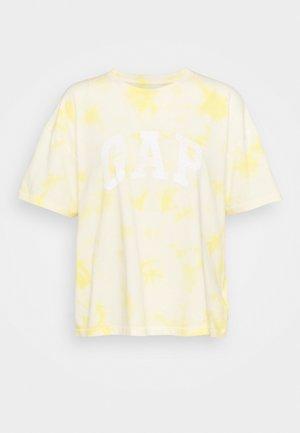 EASY TEE - Print T-shirt - yellow