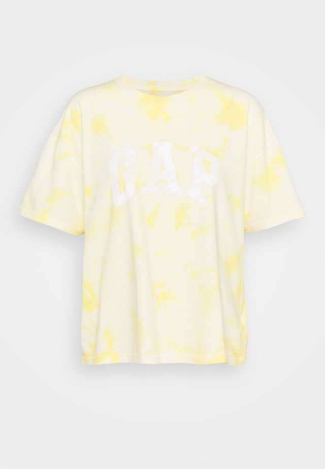 EASY TEE - T-shirts print - yellow