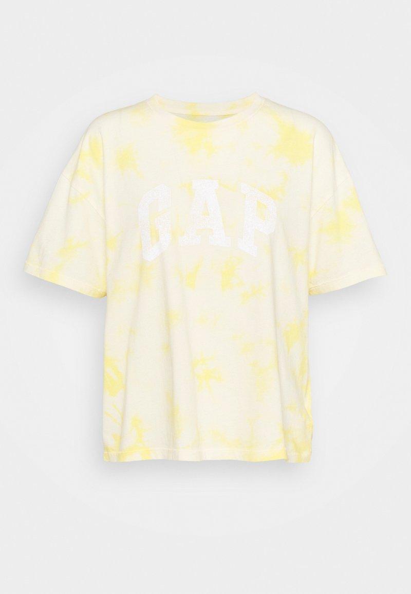 GAP - EASY TEE - Print T-shirt - yellow