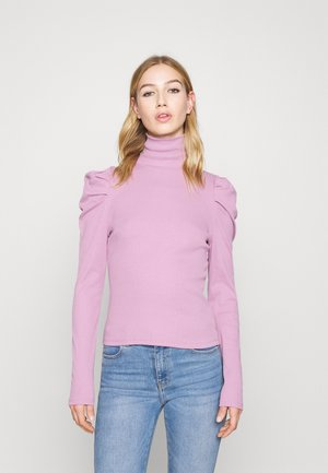 RONJA - Long sleeved top - pink medium dusty unique