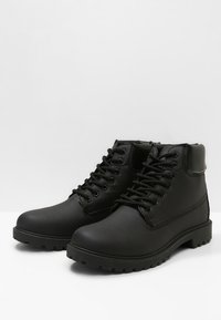 YOURTURN - Lace-up ankle boots - black - 2