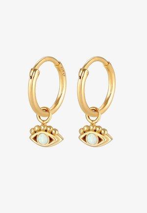 HOOPS EVIL EYE - Earrings - gold