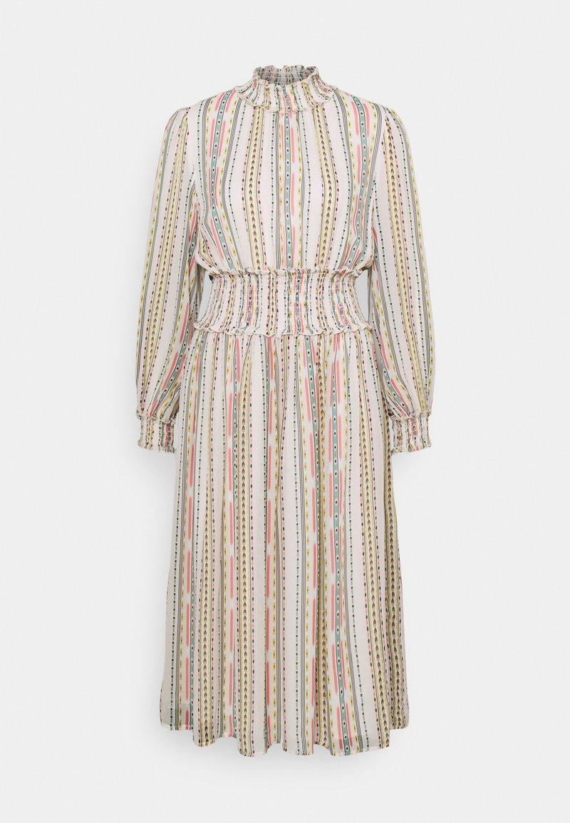 By Malina - SADIE DRESS - Korte jurk - inca soft beige