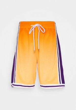 LOS ANGELES LAKERS NBA FADED SWINGMAN SHORTS - kurze Sporthose - light gold