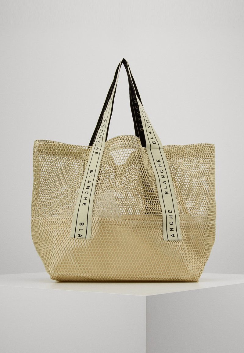 BLANCHE - TOTE LOGO - Shoppingveske - sorbet
