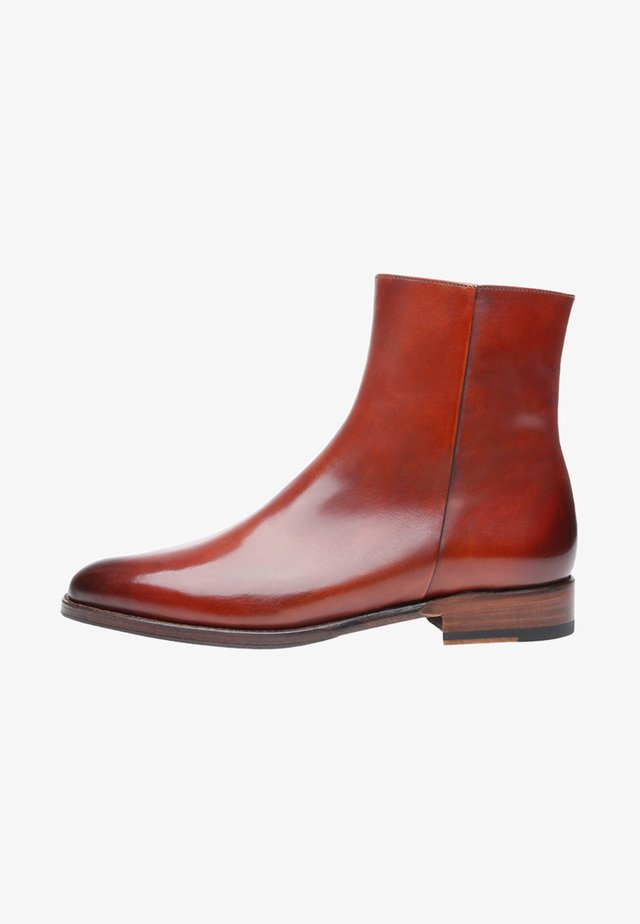 NO. 2352 - Classic ankle boots - brandy