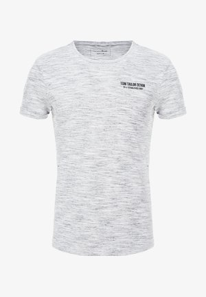 T-shirt med print - white new space dye
