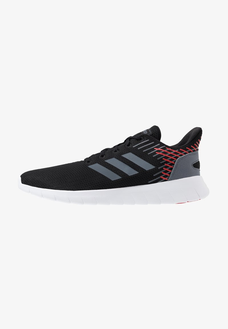 adidas Performance - ASWEERUN - Neutral running shoes - core black/onix/scarlet