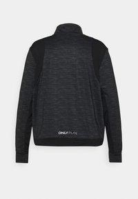 ONLY Play - ONPASIME CURVY - Training jacket - dark grey melange - 1