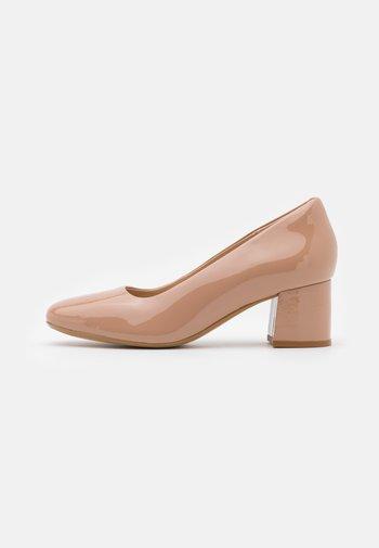 SHEER ROSE  - Classic heels - blush