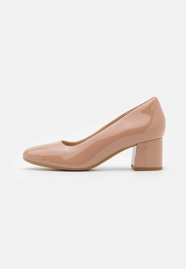 SHEER ROSE  - Classic heels - blush