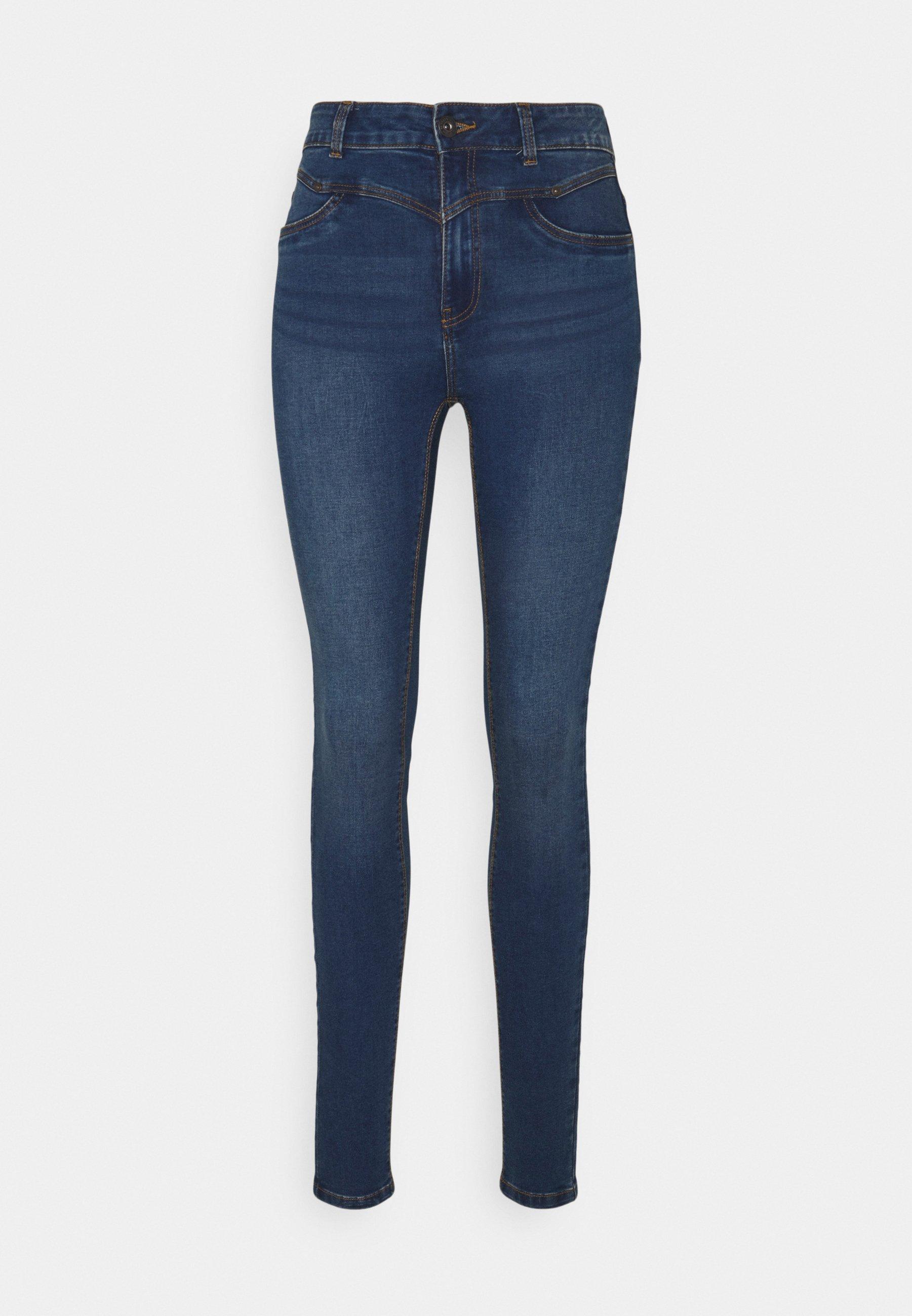Women NMCALLIE WESTERN - Jeans Skinny Fit