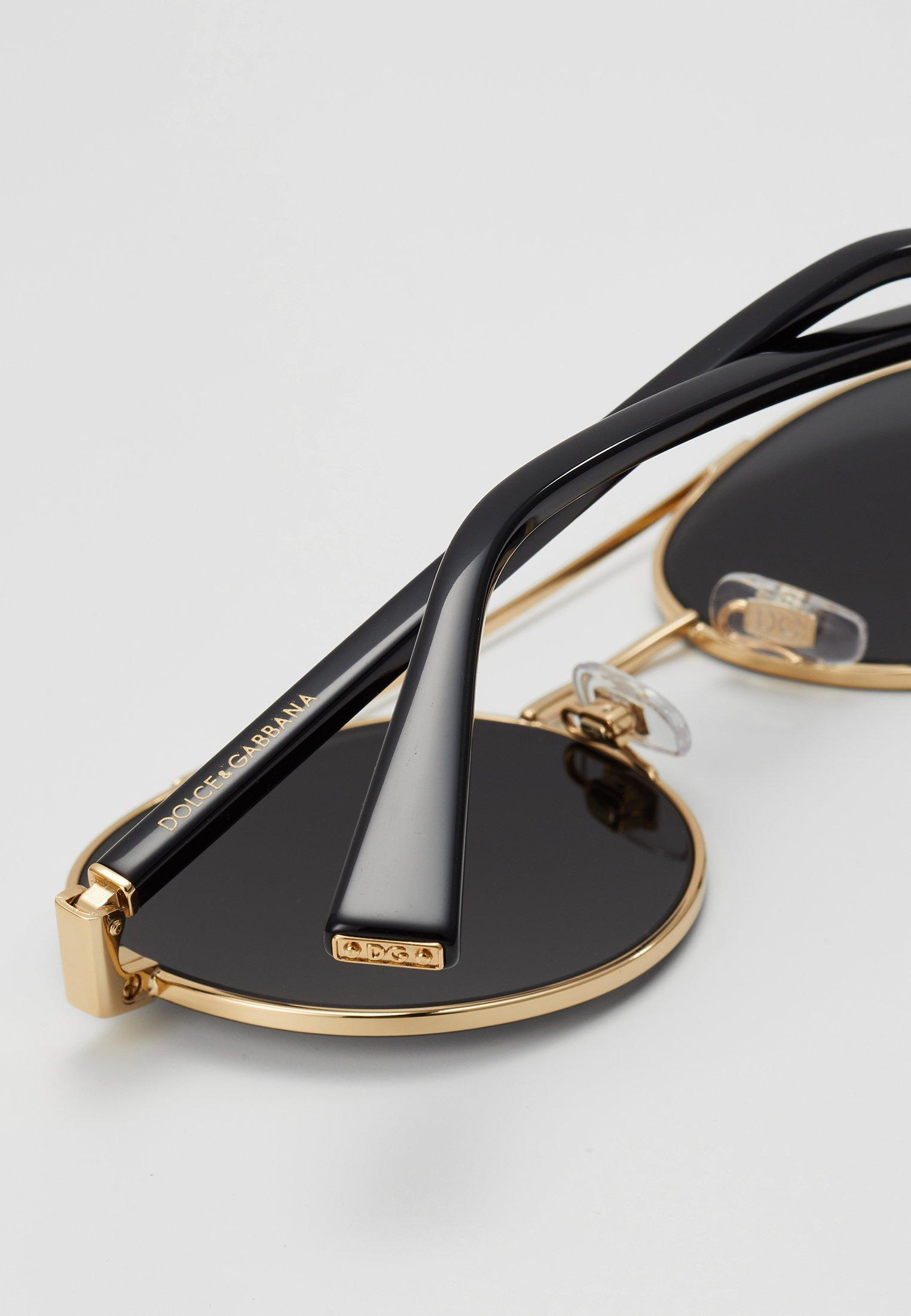 DolceGabbana Sonnenbrille - gold-coloured/matte black/schwarz - Herrenaccessoires f31xA
