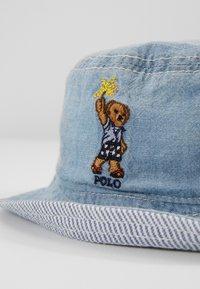 Polo Ralph Lauren - BUCK APPAREL ACCESSORIES HAT - Klobouk - blue - 3