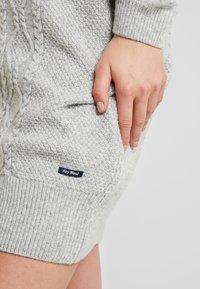 Sea Ranch - ANNET DRESS - Jumper dress - grey melange - 3
